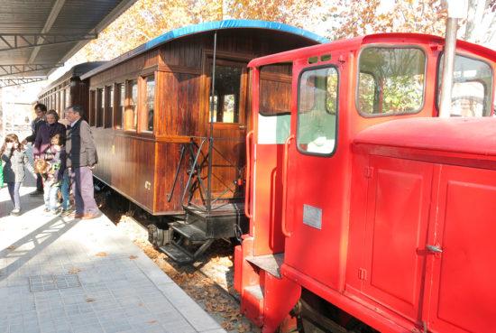 El tren de Arganda circulará en primavera y otoño en este 2018