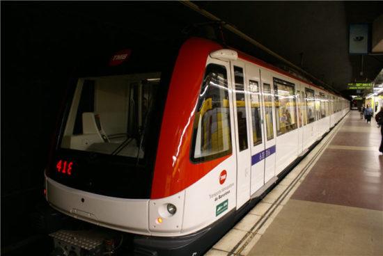 Trenes metro Barcelona