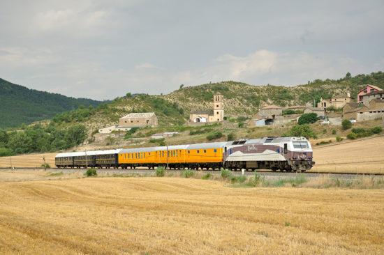 El tren histórico de los Amigos del Ferrocarril de Zaragoza llegará a Cariñena el 15 de abril