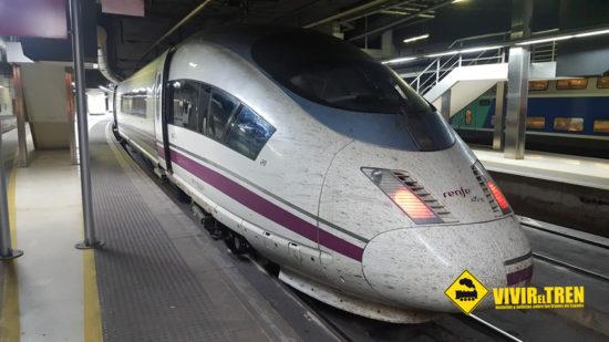 En 2017, Renfe indemnizó a 139.486 pasajeros por retrasos en trenes AVE