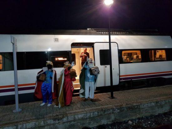 Ciudades en las que los Reyes Magos llegarán en tren el 5 de enero cargados de regalos