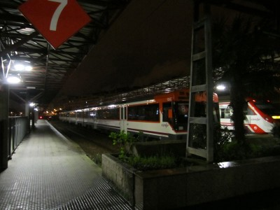 Estacion de trenes Humedal-Gijón