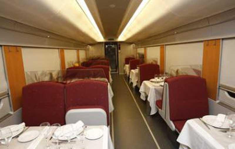 Interior Tren hotel : Vivir el Tren – Historias de trenes