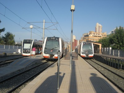 Tren Tram Benidorm