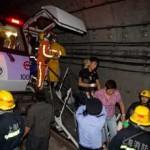 accidente metro shanghai