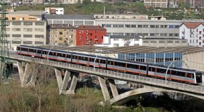 metro bilbao puente