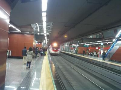 estacion tren sol