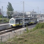 Trenes FEVE estación Gijón