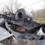 descarrilamiento tren mercancias FEVE Arriondas
