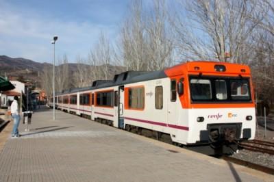 tren La Pobla de Segur
