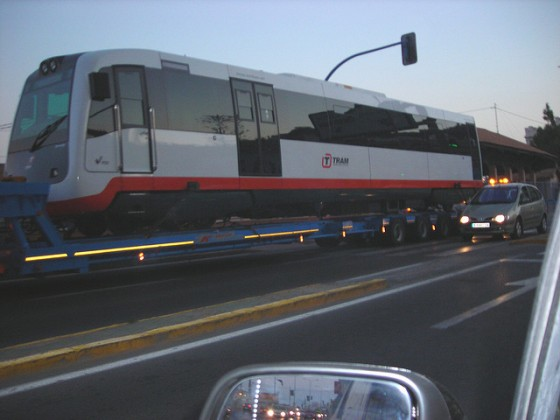 TRAM Alicante camión
