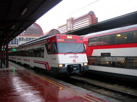 Tren Cercanías Chamartín