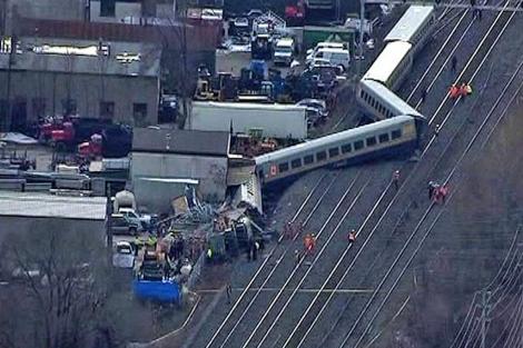 descarrilamiento tren Toronto