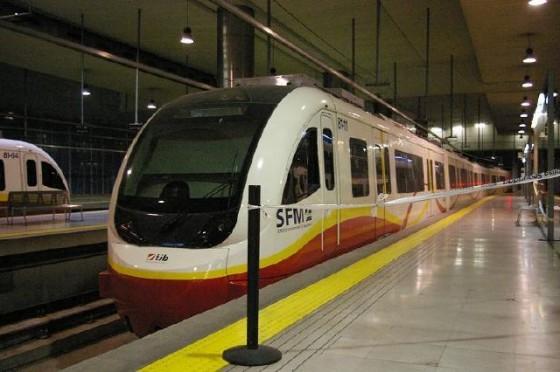 tren eléctrico SFM