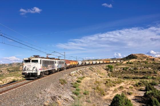 tren mercancias Canfranc