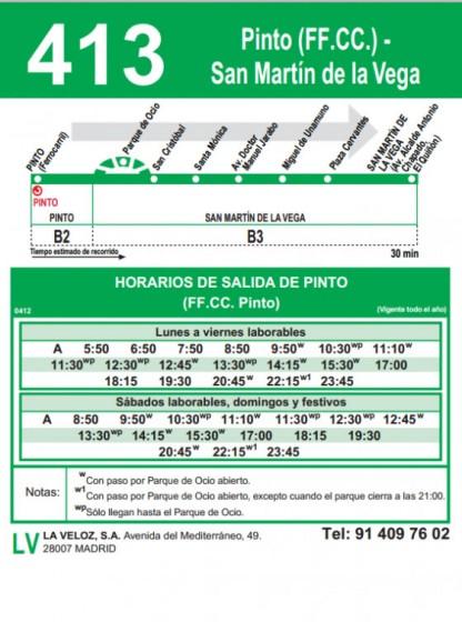 Interurbano Pinto San Martín de la Vega