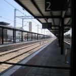 andén estación provisional León