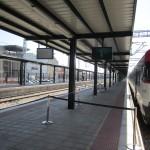 anden estación provisional León