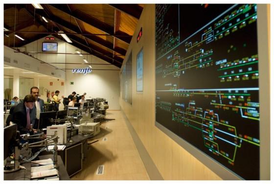 centro de control RENFE