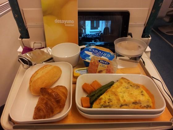desayuno ALVIA preferente