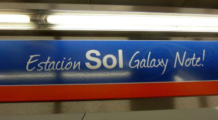 estación Sol Galaxy Note