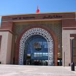 estación de tren Marrakech