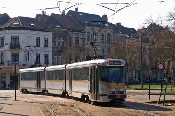 Tranvia Bruselas STIB