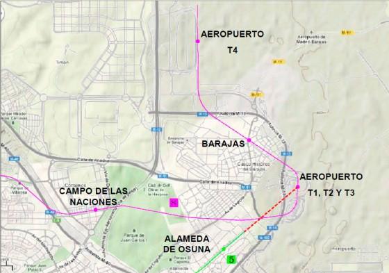 ampliación línea 5 metro Madrid