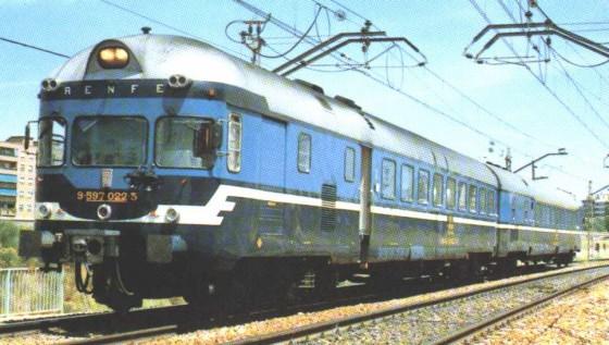 tren diésel modelo TER