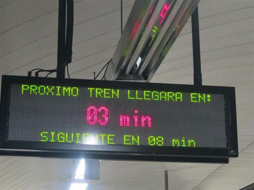 Panel Metro Madrid