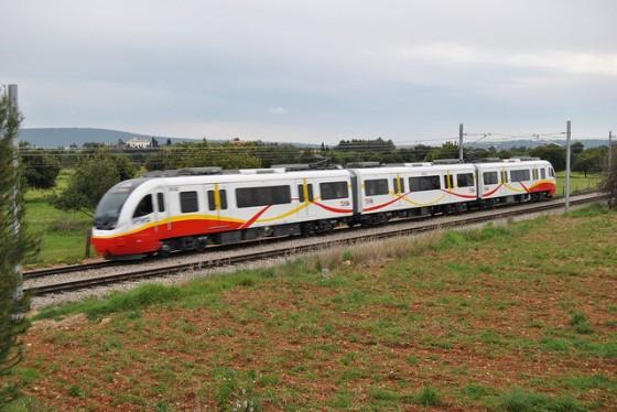 tren eléctrico Mallorca-Inca