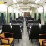 Interior Tren Estrella del Cantábrico
