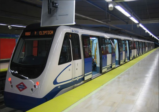 Metro Madrid Eliptica