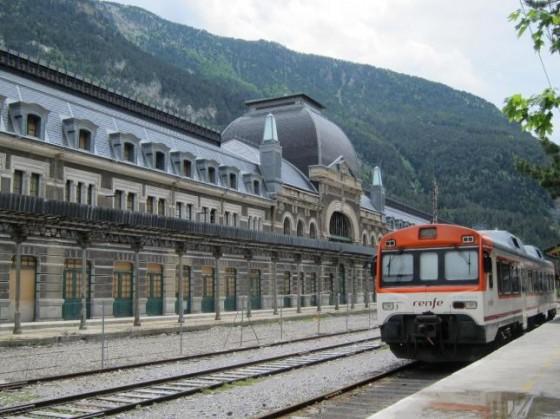 Tren Canfranc