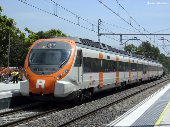 Tren Rodalies Cataluña