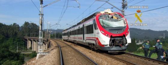 accidente tren Serín