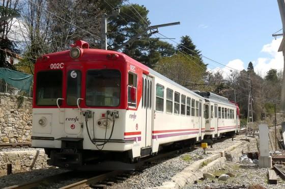 tren Puerto Navacerrada