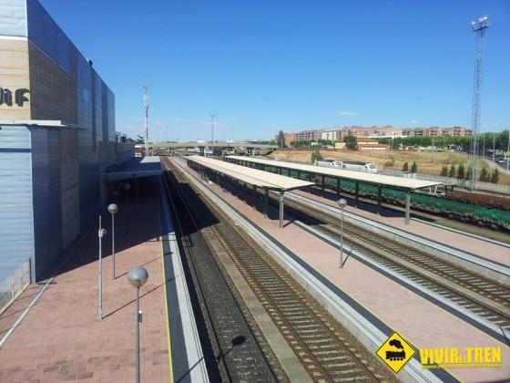 anden principal estación Salamanca