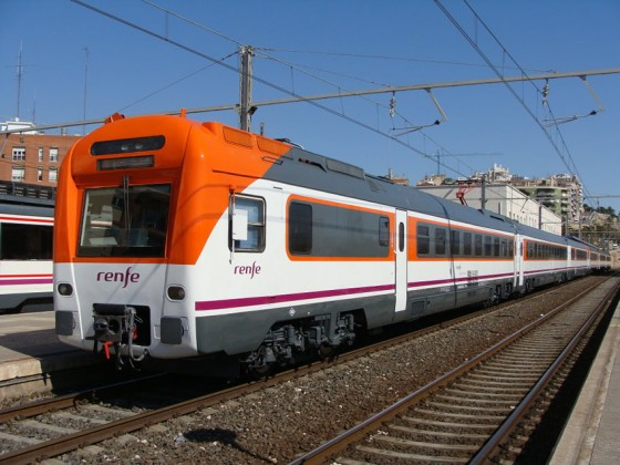 tren Regional Rodalies Cataluña