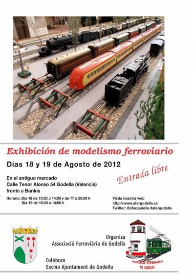 Jornada de puertas abiertas en la Asociación Ferroviaria de Godella