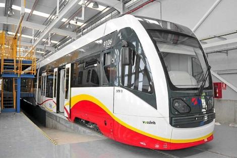 Los tren-tram conectarán Palma – Inca en 23min a partir del próximo otoño