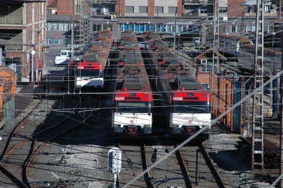 cocheras Cercanías Bilbao
