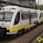 Tren FEVE El Berron doble composicion