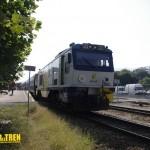 Maquina Tren de Madera
