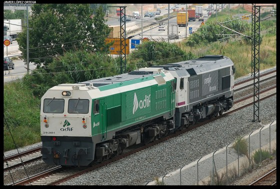 Maquinas RENFE y ADIF