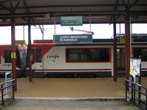 tren Campus universitario Rabanales