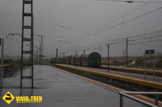 Estación de Ferrocarril de Araia (I). Historia y trenes de mercancías