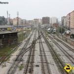 Trenes estacion FEVE Santander