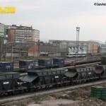 Vagones mercancias Santander