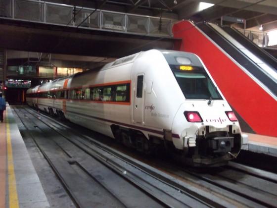 tren diesel Merida